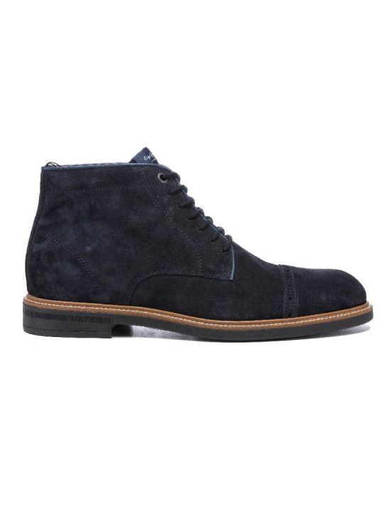 Kotníkové tmavomodré polobotky Pepe Jeans AXEL - 919 CONCEPT STORE 61449d8dd9