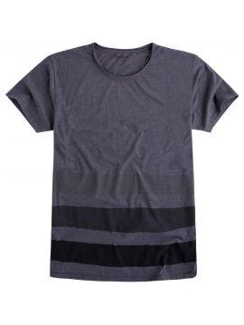 Šedé triko s pruhy Pepe Jeans GYEON