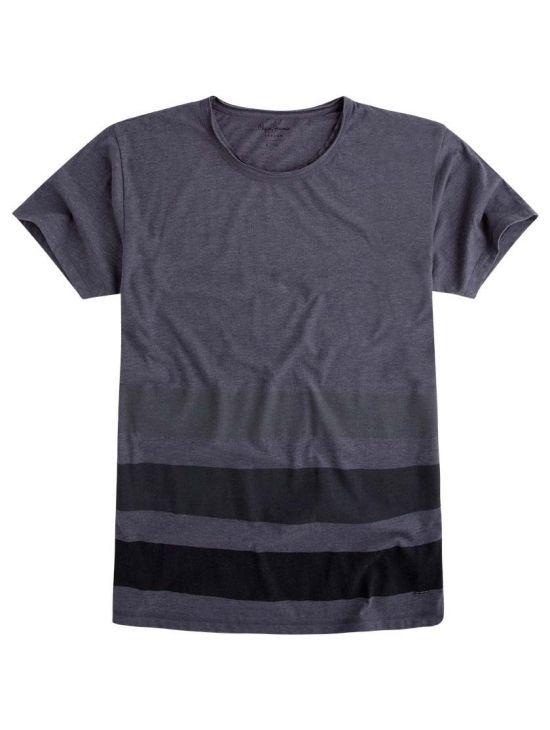 Šedé triko s pruhy Pepe Jeans GYEON - 919 CONCEPT STORE 511932d2d6