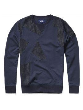 Pánská modrá mikina Pepe Jeans GILESb
