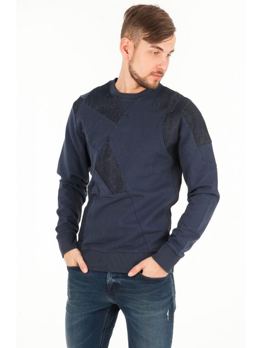 Pánská modrá mikina Pepe Jeans GILES - 919 CONCEPT STORE 9c248d678f