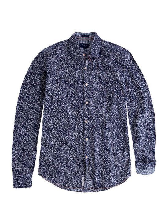 Pánská modrá košile Pepe Jeans KRIS - 919 CONCEPT STORE 38c16ba259