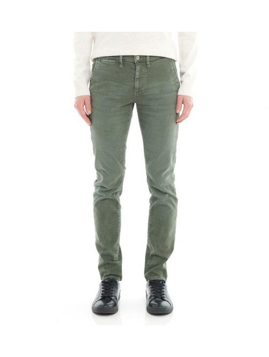 Zelené džínové chinos kalhoty Pepe Jeans JAMES - 919 CONCEPT STORE f074f6acb5