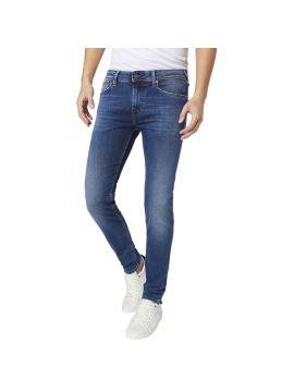 Středně modré slim džíny Pepe Jens FINSBURY
