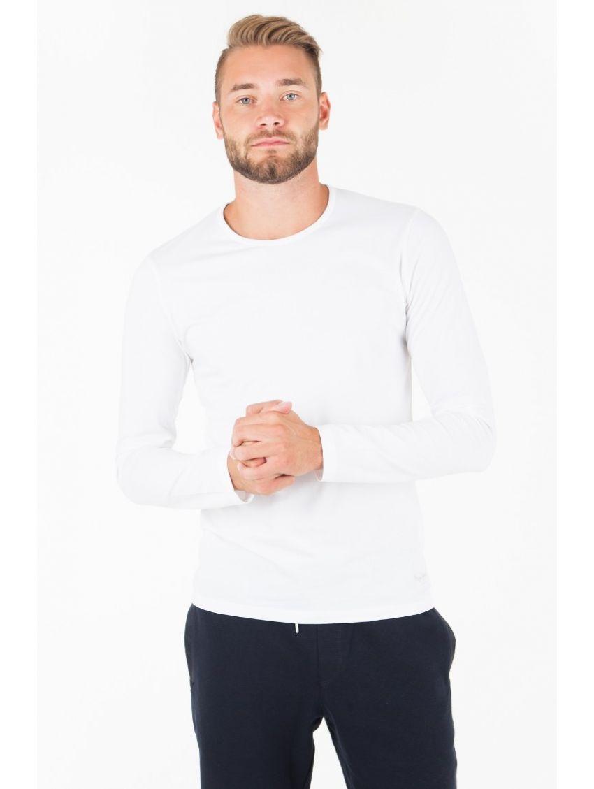 Triko s dlouhým rukávem Pepe Jeans ORIGINAL BASIC bílé - 919 CONCEPT ... 6eba57b1ae