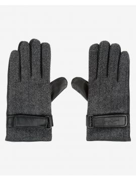 Tvídové šedé rukavice Pepe Jeans JALON GLOVES