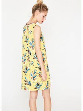 Žluté letní šaty Pepe Jeans VEGAb