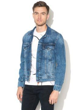 Džínová pánská bunda Pepe Jeans PINNERa