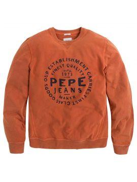 Oranžová pánská mikina Pepe Jeans MASSEOT