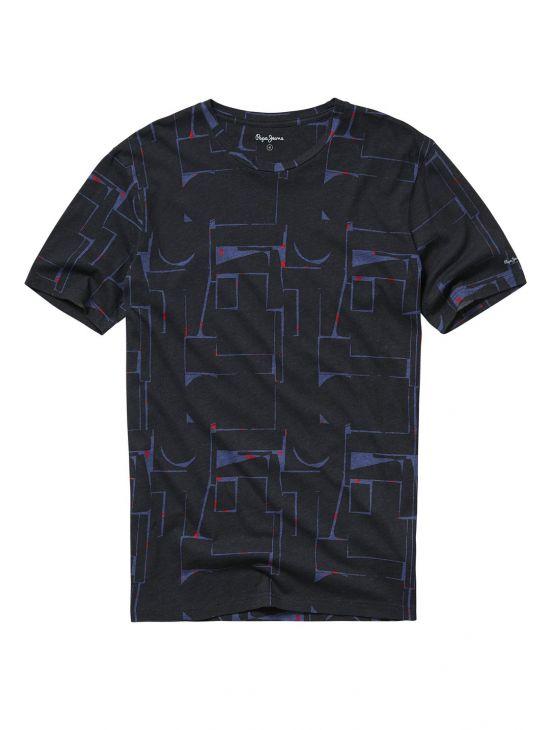 Triko s grafickými motivy Pepe Jeans GOLDHAWK - 919 CONCEPT STORE 317cef3b6a