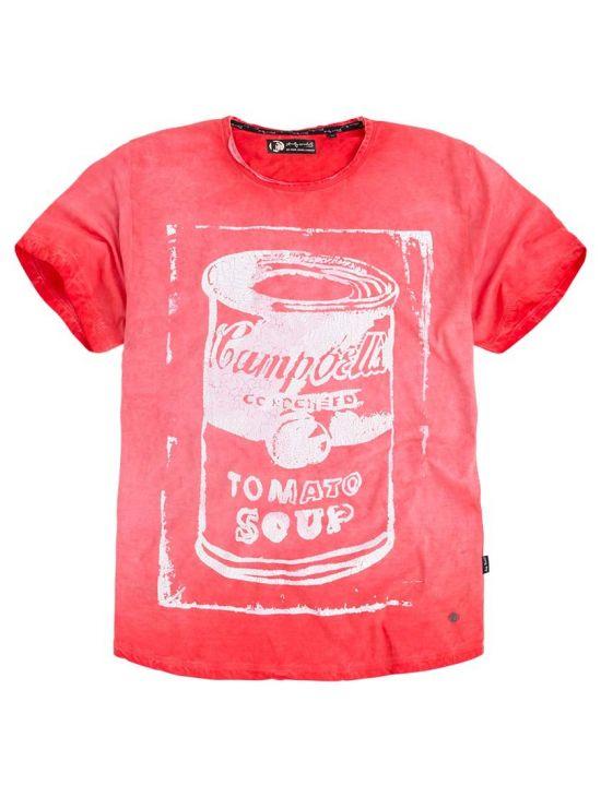 Andy Warhol červené triko Pepe Jeans GLOW - 919 CONCEPT STORE 60b149481c