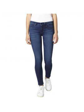 Modré džíny s vyšším pasem Pepe Jeans SK-PIXIE