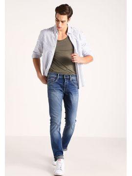 Světle modré pružné džíny Pepe Jeans TRACK 1