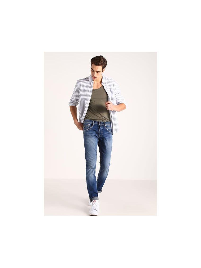Světle modré pružné džíny Pepe Jeans TRACK 1. Loading zoom fc14e93196