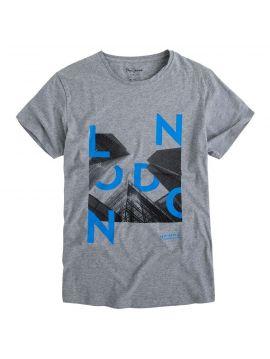 Pánské šedé triko Pepe Jeans ROWENA