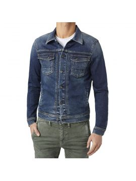 Modrá džínová pánská bunda Pepe Jeans ROOSTERa