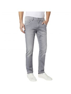 Šedé pánské džíny pepe Jeans TRACK GymdiGo