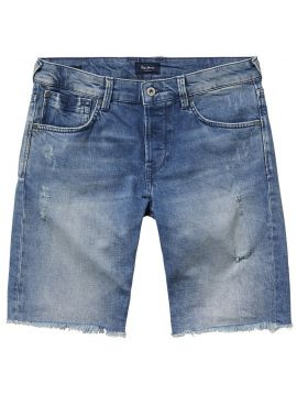 Pásnké světle modré kraťasy Pepe Jeans CHAP