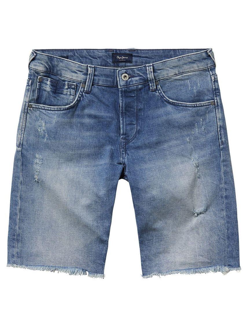 Pásnké světle modré kraťasy Pepe Jeans CHAP - 919 CONCEPT STORE f8c26a0dc2