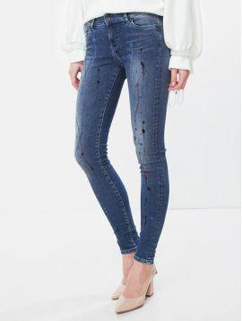 0df73b562e7 Pocákané slim džíny Pepe Jeans PIXIE PAINT