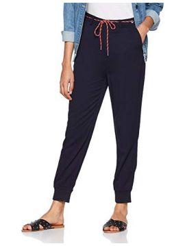 Tmavě modré letní kalhoty Pepe Jeans EMILIE