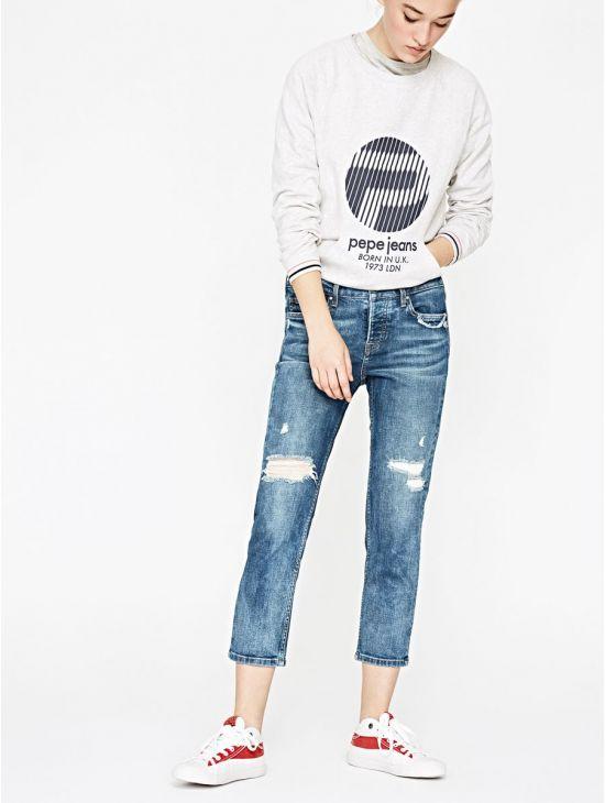 190ea297338 Boyfit džíny ke kotníku Pepe Jeans JOLIE ECO - 919 CONCEPT STORE