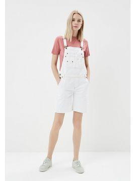 Bílé kraťasy s laclem Pepe Jeans ABBEY