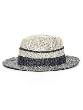 Modro béžový klobouk Pepe Jeans LAURA