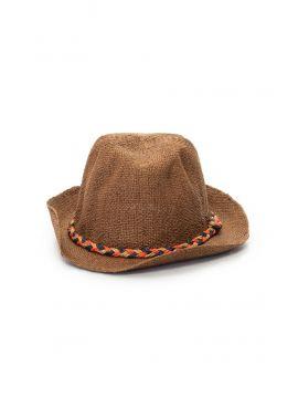 Hnědý pánský klobouk Pepe Jeans ENFIELD