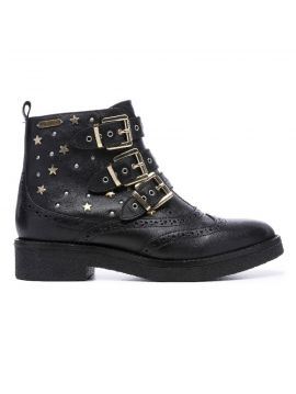 Kožené kotníkové boty Pepe Jeans SAVILE VENUEa