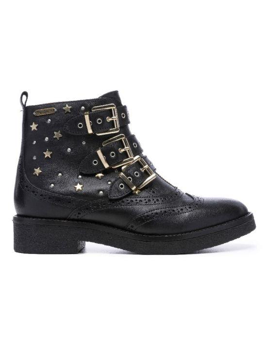 Kožené kotníkové boty Pepe Jeans SAVILE VENUE - 919 CONCEPT STORE 8478b5a39c