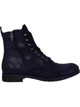Kotníkové pánské modré boty Diesel D-KALLIEN