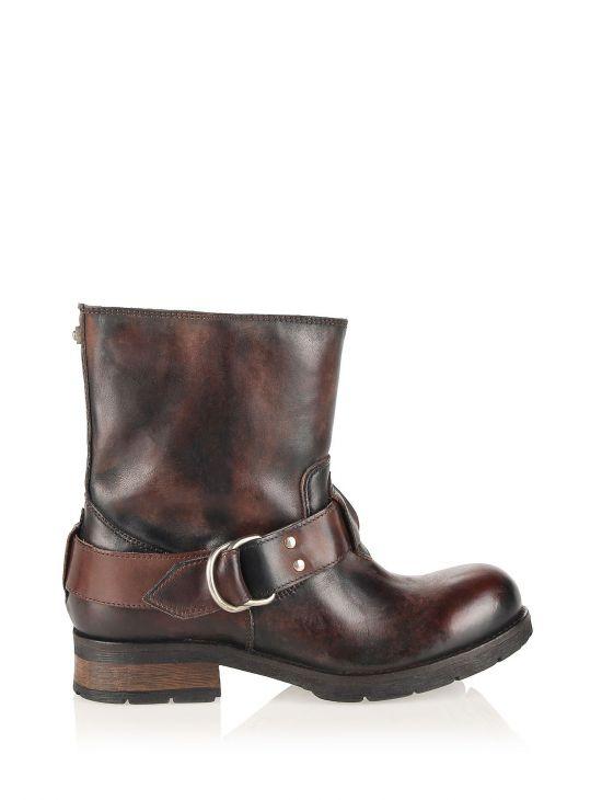 Dámské kožené kotníkové boty DIESEL KRUISER