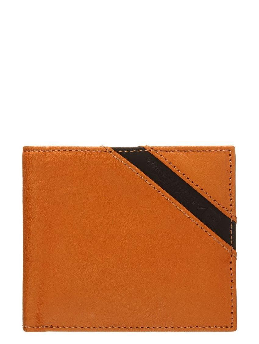 ebe261ec45a ... kožená hnědá peněženka Diesel HIRESH X03611. Snížená cena! Obrázek (1).  Loading zoom
