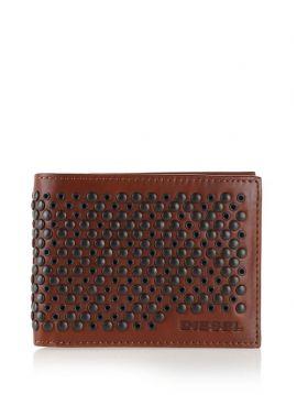 Pánská kožená peněženka se cvočky HIRESH X03434