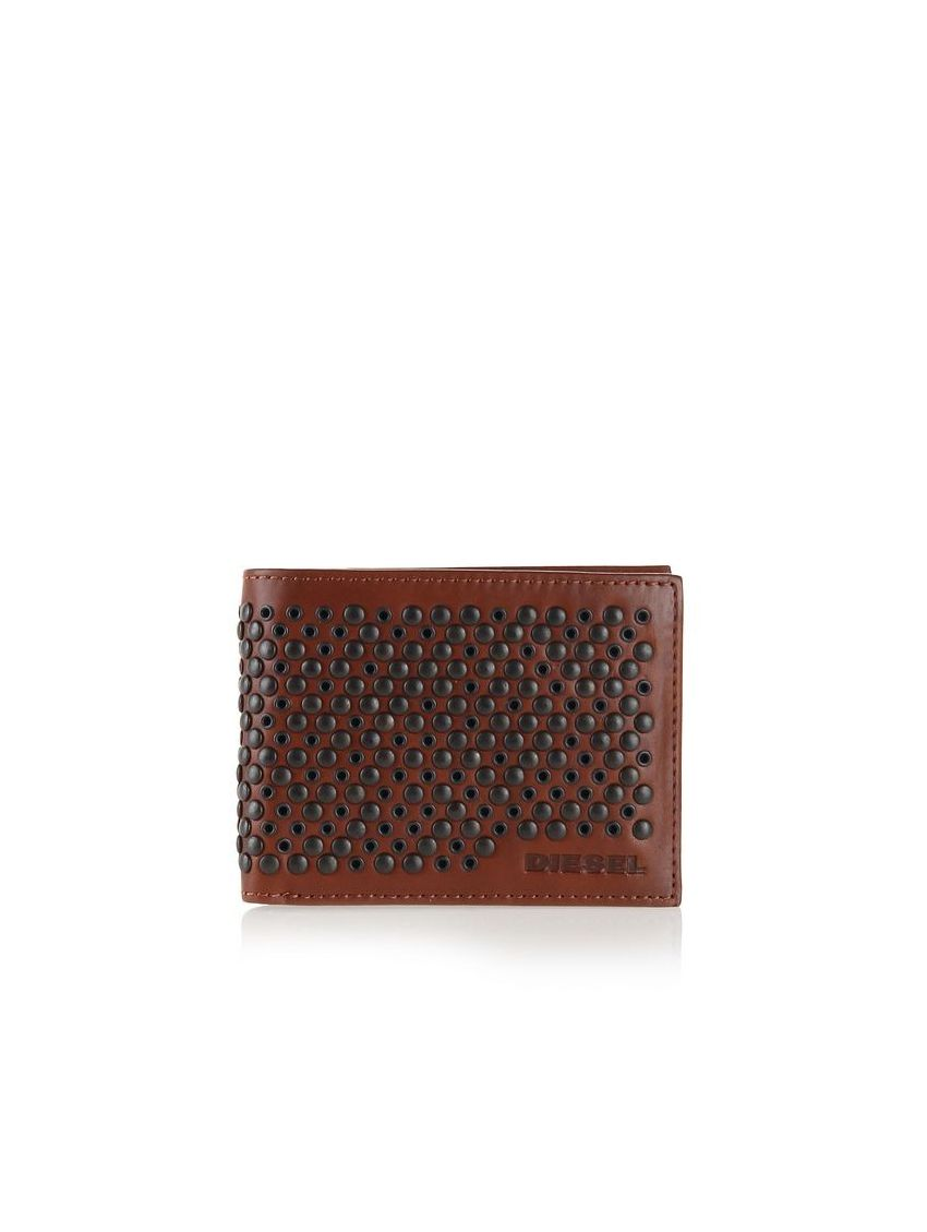 5ab54568d6c Pánská kožená peněženka se cvočky HIRESH X03434 - 919 CONCEPT STORE