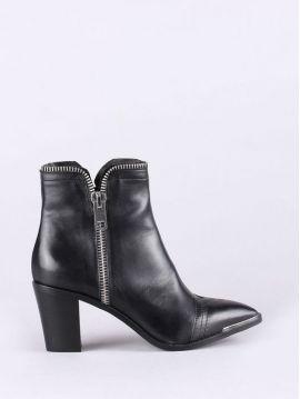 Dámské kotníkové boty se zipy Diesel MANNISHb