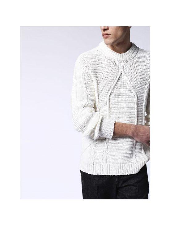 Pánský bílý zimní pulover svetr Diesel K-MILLER - 919 CONCEPT STORE 66311b4586