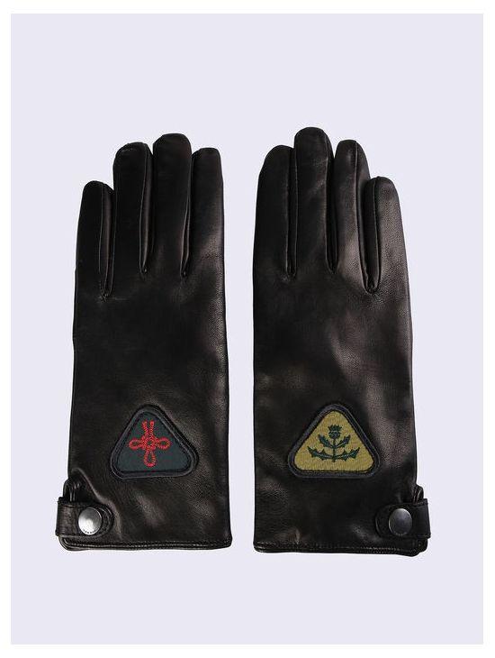 Dámské kožené rukavice s nášivkami Diesel GABBY-FL - 919 CONCEPT STORE f07041b5cc