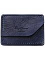 Tmavě modré kožené pouzdro Pepe Jeans SERGE