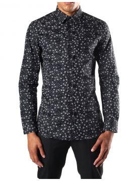 Pánská černá košile s hvězdičkami Diesel S-STARY