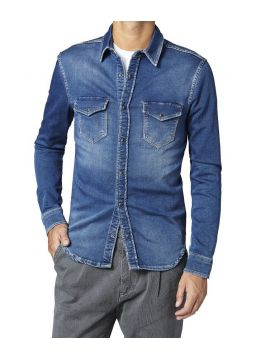 Gymdigo džínová košile Pepe Jeans JEPSON