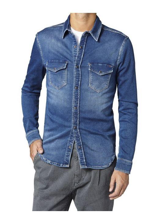 Gymdigo džínová košile Pepe Jeans JEPSON - 919 CONCEPT STORE 01f44c3117