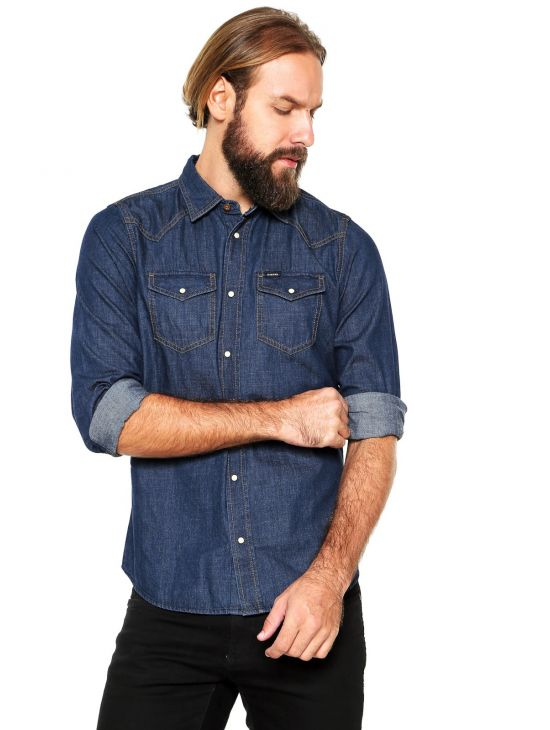 Pánská košile Diesel NEW-SONORA-E