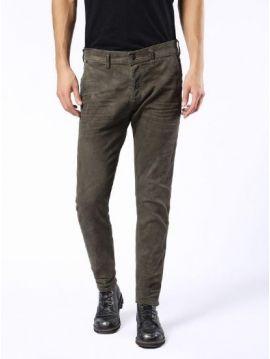 Pánské šedé manšestrové kalhoty Diesel KAKEE