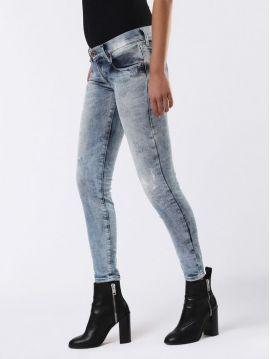 Dámské slim džíny ke kotníku Diesel GRUPEE-ANKLE 084DK