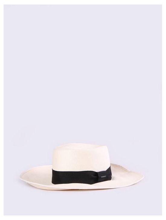 Elegantní velký bílý klobouk Diesel COTYERa