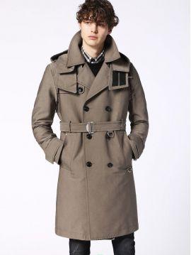 Pánský podzimní trenčkot kabát Diesel W-SEEDSc