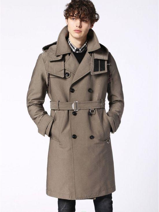 a1690812abb Pánský podzimní trenčkot kabát Diesel W-SEEDS - 919 CONCEPT STORE