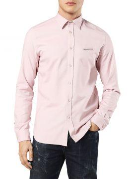 Pánská světle růžová košile Diesel s-HARRAS